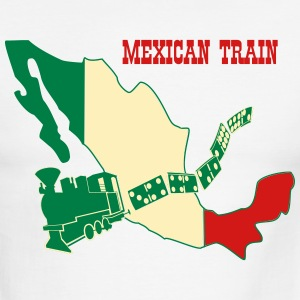 Mexican Train4 T-Shirts - Men's Ringer T-Shirt