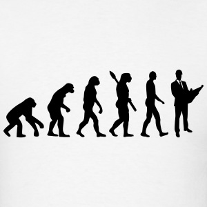 Evolution Architect T-Shirts - Men's T-Shirt