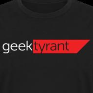 Design ~ Mens Long Sleeve  // GeekTyrant RED Logo