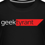 Design ~ KIDS T-shirt  // GeekTyrant RED Logo