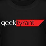 Design ~ TODDLER T-shirt  // GeekTyrant RED Logo