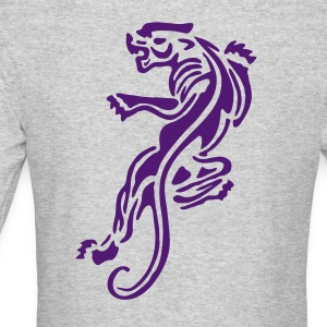 panther tattoo vintage  patjila2 Long Sleeve Shirts - Men's Long Sleeve T-Shirt by Next Level