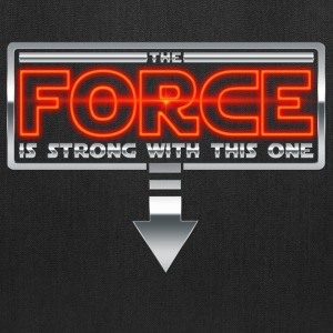 The Force is strong with this one 2AR Bags & backpacks - Tote Bag
