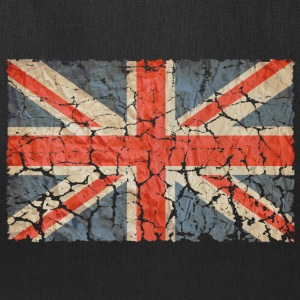 UK Flag Distressed - Tote Bag