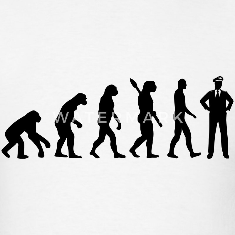 Evolution Pilot T-Shirts - Men's T-Shirt