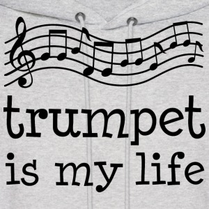 Trumpet Is My Life Hoodies - Men's Hoodie
