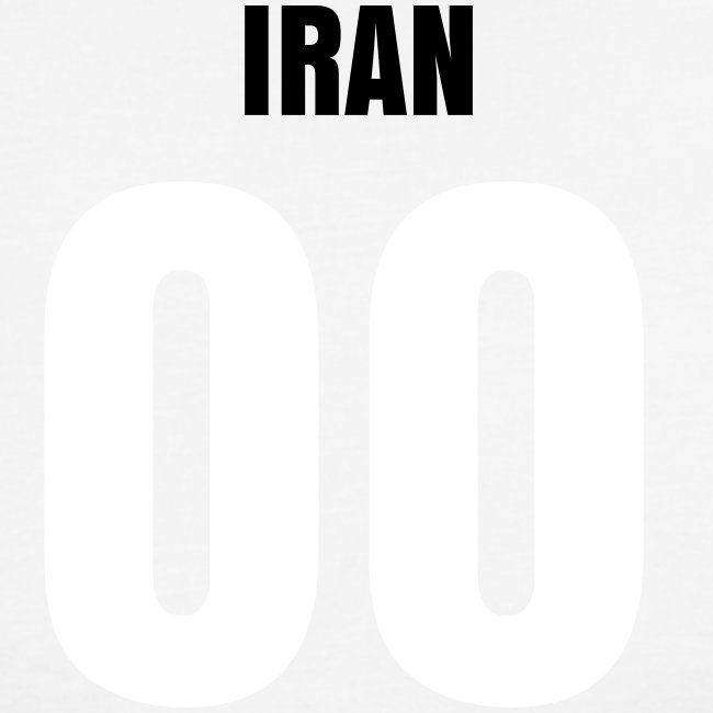 IRAN F.C. - Classic Ringer Tee + Name & Number on back