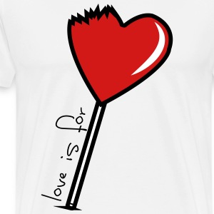 Love Is For Suckas - Men's Premium T-Shirt