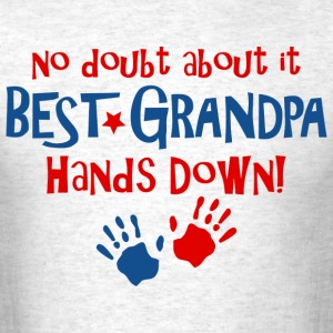 Hands Down Best Grandpa T-Shirts - Men's T-Shirt