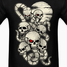 Monster Snake Skeleton T-Shirts