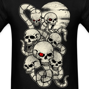 Monster Snake Skeleton T-Shirts - Men's T-Shirt