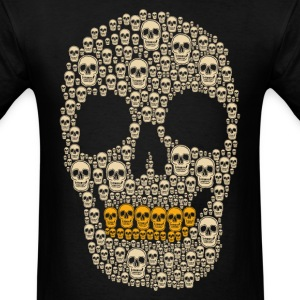 The Gold Digger Skeleton - Men's T-Shirt