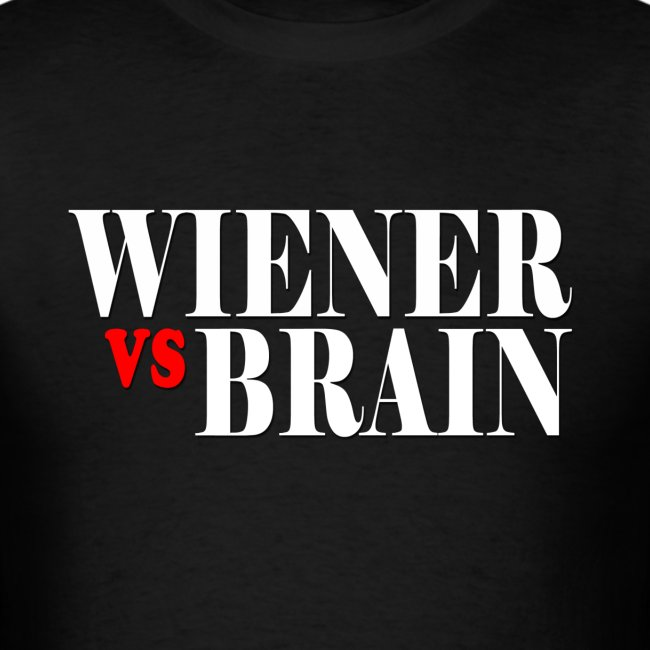 Wiener vs. Brain white type
