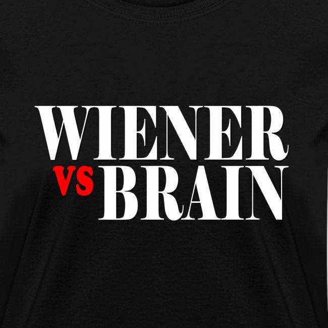 Wiener vs. Brain white type
