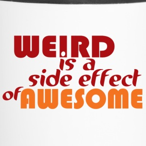 Weird is Awesome Bottles & Mugs - Travel Mug