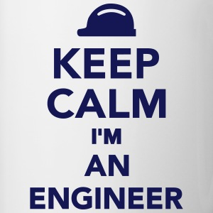 Keep calm I'm an Engineer Bottles & Mugs - Contrast Coffee Mug