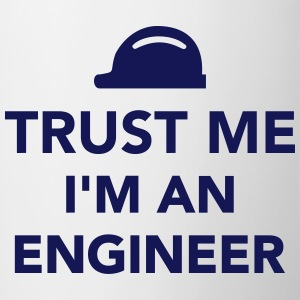 Trust me I'm an Engineer Bottles & Mugs - Contrast Coffee Mug