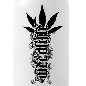 3 WeedLife - Solid Black Bottles & Mugs - Water Bottle