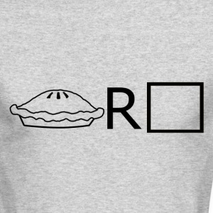 Pie R Squared - B& Long Sleeve Shirts - Men's Long Sleeve T-Shirt by Next Level
