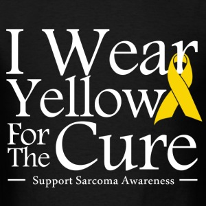 i_wear_yellow_for_the_cure T-Shirts - Men's T-Shirt