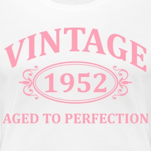 Vintage 1952 Aged to Perfection Women's T-Shirts - Women's Premium T-Shirt