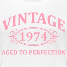 Vintage 1974 Aged to Perfection Women's T-Shirts