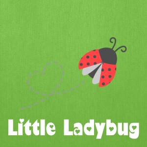 cute ladybug heart Bags & backpacks - Tote Bag