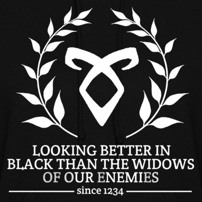 Fandom Wear The Mortal Instruments Quote Womens Hoodie