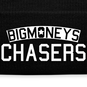 Big Money Chasers Caps - Knit Cap with Cuff Print