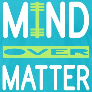 Mind Over Matter WOD and Weight Lifting T-Shirts - Men's T-Shirt by American Apparel