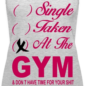 Single Taken At The Gym Tanks - Women's Premium Tank Top