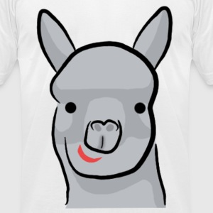 alpaca T-Shirts - Men's T-Shirt by American Apparel