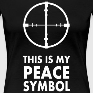 This is my peace symbol - Women's Premium T-Shirt