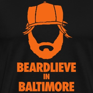 Baltimore Beard T-Shirts - Men's Premium T-Shirt