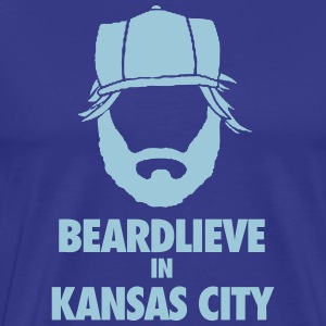 KC Beard T-Shirts - Men's Premium T-Shirt