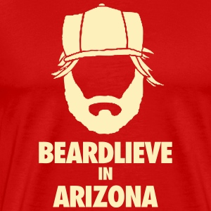 AZ Beard T-Shirts - Men's Premium T-Shirt