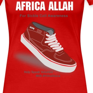 Sickle Cell Awareness Women's T-Shirts - Women's Premium T-Shirt