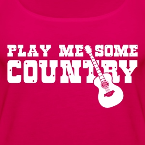 Play Me Some Country - Women's Premium Tank Top