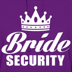 Bride Security Hoodies