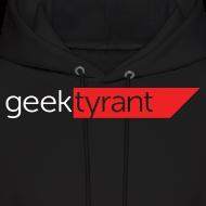 Design ~ Mens Hoodie  // GeekTyrant RED Logo