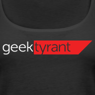 Design ~ Ladies Tank Top  // GeekTyrant RED Logo