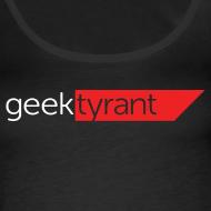 Design ~ Ladies Tank Top  // GeekTyrant RED Logo