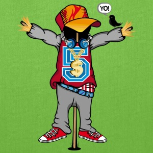 A scarecrow in Hip Hop Style  Bags & backpacks - Tote Bag