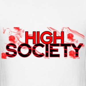highsocietyRED T-Shirts - Men's T-Shirt