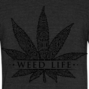 Weed Life Products - Unisex Tri-Blend T-Shirt by American Apparel