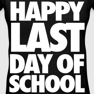 Happy Last Day of School Women's T-Shirts - Women's V-Neck T-Shirt