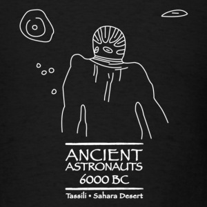 Ancient Astronauts Tassili 6000 BC - Men's T-Shirt