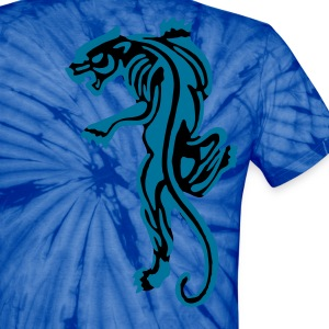 Tiger Old School Tattoo Icon patjila2 T-Shirts - Unisex Tie Dye T-Shirt