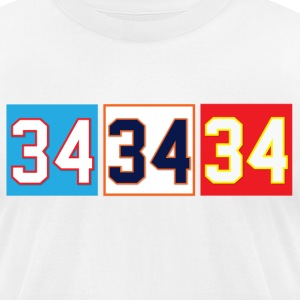 Thirty-Four T-Shirts - Men's T-Shirt by American Apparel