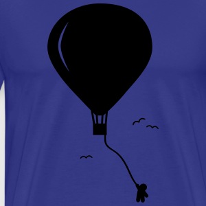 hot-air balloon guy  T-Shirts - Men's Premium T-Shirt